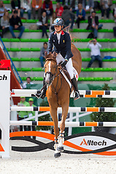 Penelope Leprevost, (FRA), Flora De Mariposa - Team & Individual Competition Jumping Speed - Alltech FEI World Equestrian Games™ 2014 - Normandy, France.<br /> © Hippo Foto Team - Leanjo De Koster<br /> 02-09-14