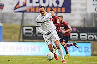 Sebastien ROUDET - 24.01.2015 - Clermont / Chateauroux  - 21eme journee de Ligue2<br />Photo : Jean Paul Thomas / Icon Sport