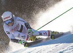 25.11.2017, Killington, USA, FIS Weltcup Ski Alpin, Killington, Riesenslalom, Damen, 1. Durchgang, im Bild Eva-Maria Brem (AUT) // Eva-Maria Brem of Austria in action during her 1st run of ladie's Giant Slalom of FIS Ski Alpine World Cup in Killington, United Staates on 2017/11/25. EXPA Pictures © 2017, PhotoCredit: EXPA/ Johann Groder