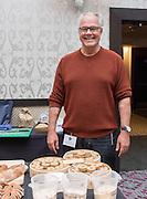 BARLEY, Hordeum vulgare Showcase: 'Karma', #STRKR, #BUCK, OSU Malt #1, Black Beaut, Meints breeding selection 3-32-OCOLOR Breeders: Pat Hayes, Oregon State University and Brigid Meints, Washington State University<br />Chef: Andrew Ross, Oregon State University<br />Dish: Barley Malt Shortbread