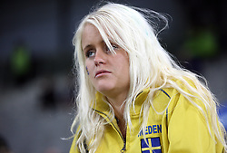 Dissapointed fan of Sweden after the UEFA EURO 2008 Group D soccer match between Sweden and Russia at Stadion Tivoli NEU, on June 18,2008, in Innsbruck, Austria.  (Photo by Vid Ponikvar / Sportal Images)
