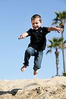 7 April 2012:  Greg, Leslie, Brady and Tatum Dell in Balboa, California for a family photo session.