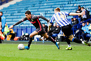 Leeds United midfielder Ian Poveda (15)  during the U23 Professional Development League match between U23 Sheffield Wednesday and U23 Leeds United at Hillsborough, Sheffield, England on 3 February 2020.
