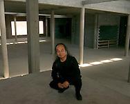 4/4/05 -- Omaha, NE  World famous artist Jun Kaneko in his studio in Omaha Nebraska.. (Photo by Chris Machian/fPrairie Pixel Group).