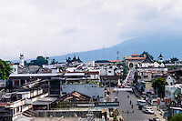 West Sumatra. Bukittinggi means high hills, and is a popular destination for travellers. Also known as Kota Jam Gadang, named after the big clock tower, seen to the left.