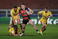 Rugby Union - 2020 / 2021 European Rugby Heineken Champions Cup - Round of 16 - Gloucester vs La Rochelle - Kingsholm<br /> <br /> Gloucester's Charlie Chapman in action during this evening's game.<br /> <br /> COLORSPORT/ASHLEY WESTERN