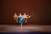 Dance Wisconsin members rehearse Alice's Adventures in Wonderland at Mitby Theater at Madison College in Madison, Wisconsin on April 8, 2016. <br /> <br /> Beth Skogen Photography - www.bethskogen.com