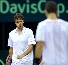 20140913 NED: Davis Cup Nederland - Kroatie, Amsterdam