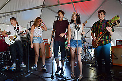 School of Rock afternoon show at The Gathering of the Vibes 2013. Friday 26 July