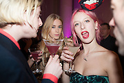 MARY CHARTERIS; HARRIET VERNEY, Isabella Blow: Fashion Galore! private view, Somerset House. London. 19 November 2013