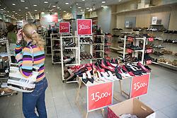 Shoe Shop in Las Palmas; Canaries,