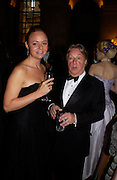 Stella McCartney and Arnold Scaasi, Ball at Blenheim Palace in aid of the Red Cross, Woodstock, 26 June 2004. SUPPLIED FOR ONE-TIME USE ONLY-DO NOT ARCHIVE. © Copyright Photograph by Dafydd Jones 66 Stockwell Park Rd. London SW9 0DA Tel 020 7733 0108 www.dafjones.com