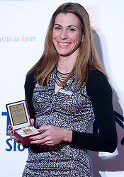 Marija Sestak, Best Slovenian athlete of the year at ceremony, on November 15, 2008 in Hotel Lev, Ljubljana, Slovenia. (Photo by Vid Ponikvar / Sportida)