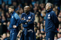 QPR Manager Chris Ramsey looks frustrated - Photo mandatory by-line: Rogan Thomson/JMP - 07966 386802 - 07/04/2015 - SPORT - FOOTBALL - Birmingham, England - Villa Park - Aston Villa v Queens Park Rangers - Barclays Premier League.