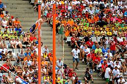 29-07-2010 ATLETIEK: EUROPEAN ATHLETICS CHAMPIONSHIPS: BARCELONA<br />  Robbert-Jan Jansen moet bij de Europese atletiekkampioenschappen in Barcelona de finale van het polsstokhoogspringen vanaf de tribune bekijken.<br /> ©2010-WWW.FOTOHOOGENDOORN.NL