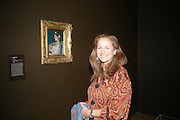 Isobel Goldsmith, Millais exhibition opening and Dinner. Tate Gallery. 24 September 2007. -DO NOT ARCHIVE-© Copyright Photograph by Dafydd Jones. 248 Clapham Rd. London SW9 0PZ. Tel 0207 820 0771. www.dafjones.com.