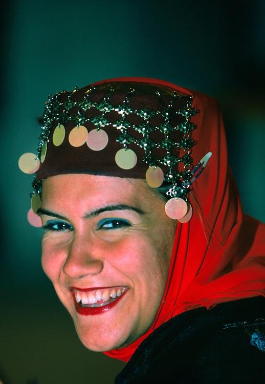 Turkish folkloric performance, Yemeni Restaurant, Uchisar, Cappadocia, Turkey