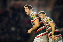 Dom Barrow of Leicester Tigers - Mandatory byline: Patrick Khachfe/JMP - 07966 386802 - 03/03/2017 - RUGBY UNION - Welford Road - Leicester, England - Leicester Tigers v Exeter Chiefs - Aviva Premiership.