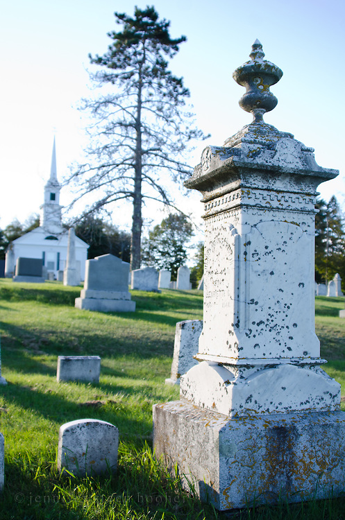 Family monument in an old cemetery, near Searsport, Maine.
