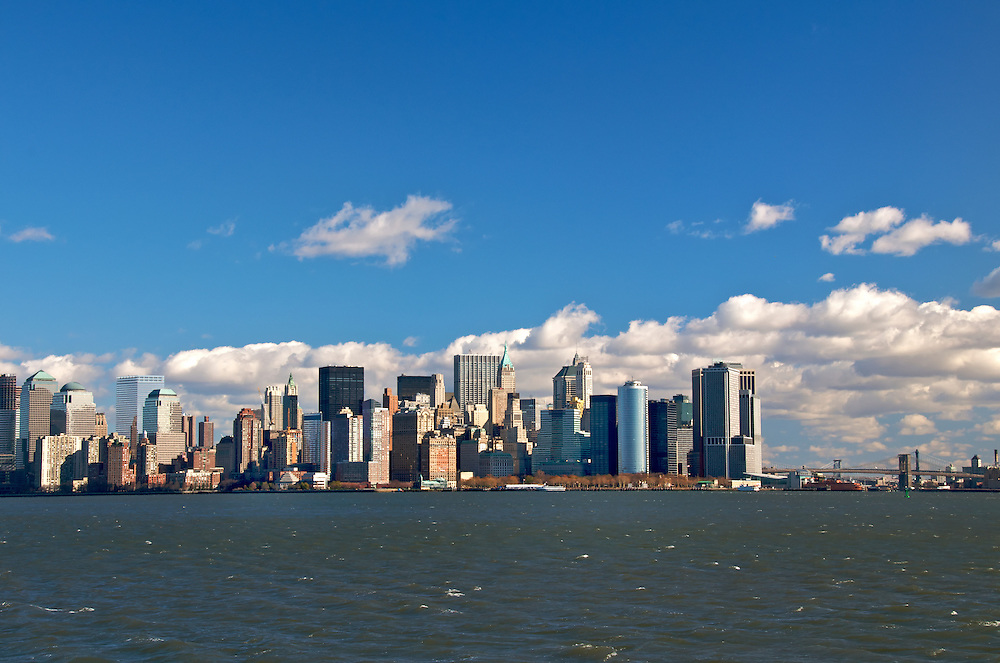 Manhattan Skyline, November 2008