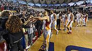 DESCRIZIONE : Campionato 2014/15 Virtus Acea Roma - Enel Brindisi<br /> GIOCATORE : Team Virtus Acea Roma<br /> CATEGORIA : Postgame Ritratto Esultanza<br /> SQUADRA : Virtus Acea Roma<br /> EVENTO : LegaBasket Serie A Beko 2014/2015<br /> GARA : Virtus Acea Roma - Enel Brindisi<br /> DATA : 19/04/2015<br /> SPORT : Pallacanestro <br /> AUTORE : Agenzia Ciamillo-Castoria/GiulioCiamillo