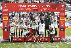 May 14, 2017 - Paris, France, France - joie equipe (Afrique du Sud) vainqueur (Credit Image: © Panoramic via ZUMA Press)