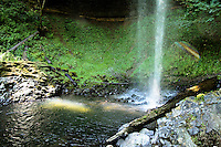 Shellburg Falls splash pool in July
