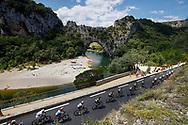 Scenery, landscape, Vallon Pont d'Arc during the 105th Tour de France 2018, Stage 14, Saint-Paul-trois-Chateaux - Mende (188 km) on July 21th, 2018 - Photo Luca Bettini / BettiniPhoto / ProSportsImages / DPPI