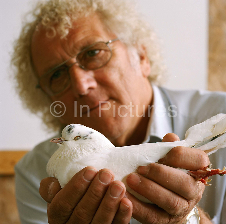 Brian Brock, accident damage assessor, pigeon fancier and judge from Leeds.A former president of the National Pigeon Association, Brian Brock has been keeping pigeons since 1946, when his sister bought him a pair from Leeds market for his sixth birthday. Today he owns more than 70. There are hundreds of different kinds of pigeon, though they can be categorised into racing and fancy breeds. Judges assess them on such attributes as eye colour, feather composition, firmness of body and presentation. 'The flat-cap image of pigeon breeding has long gone,' Brock says. 'There are all sorts of people in the pigeon world - managing directors, owners of some of the biggest stores in the country.' He concedes, however, that as a pastime it is declining in popularity, partly because of electronic entertainment. 'I think kids might well be getting out of an Xbox what I used to get out of pigeons; they live by it, just as I lived by my birds. 'For me, the pigeons are a way of closing off from things. I sometimes sit for four or five hours, just watching my birds. I have a relationship with the individual birds, and you learn to read a pigeon's temperament. They are like athletes, you see, they have off days.'