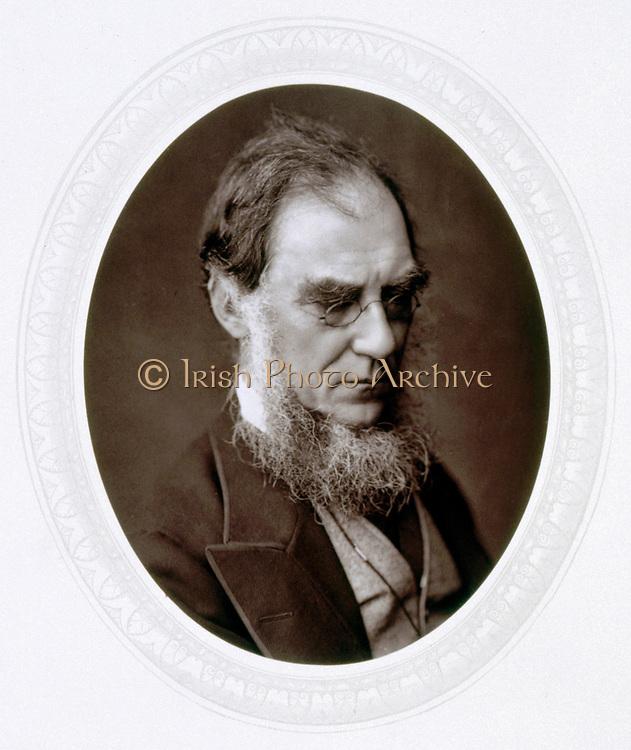 Joseph Dalton Hooker (1817-1911) English botanist, Director of Royal Botanic Gardens, Kew. Woodburytype published 1881