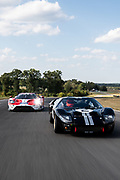 2017 Ford GTLM and 1966 Ford GT40