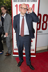 © Licensed to London News Pictures. 18/06/2015. London, UK. Toby Young arrives at the press night for 1984 at the Playhouse Theatre, Northumberland Avenue in London tonight. Photo credit : Vickie Flores/LNP