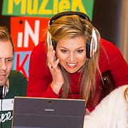 20180412 Maxima bezoekt workshop digitaal componeren