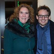 NLD/Zaandam/20140326 - Premiere De Verleiders, Cas Jansen en Marisa van Eyk