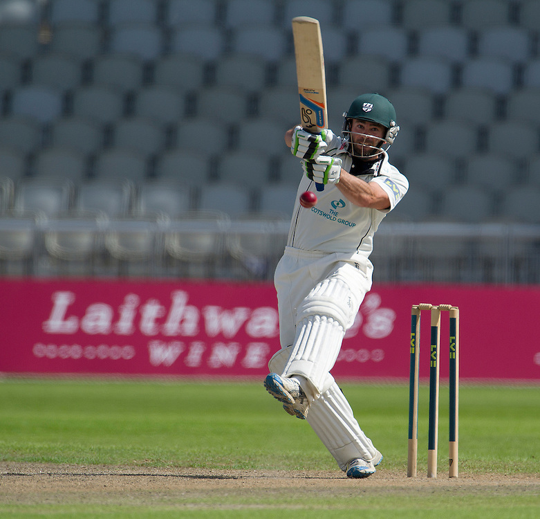 Worcestershire's Ben Scott ..County Cricket - Liverpool Victoria County Championship - Division One - Lancashire v Worcestershire - Day 1 - Wednesday 18th July 2012 - Old Trafford - Manchester..