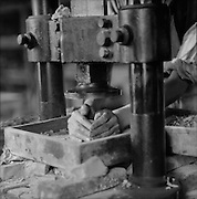 Die Pressing, Doulton's Pottery, England, 1928