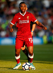 Daniel Sturridge of Liverpool - Mandatory by-line: Matt McNulty/JMP - 12/07/2017 - FOOTBALL - Prenton Park - Birkenhead, England - Tranmere Rovers v Liverpool - Pre-season friendly