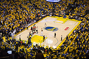 Golden State Warriors forward Kevin Durant (35) shoots a free-throw during a technical foul called on Cleveland Cavaliers during Game 5 of the NBA Finals at Oracle Arena in Oakland, Calif., on June 12, 2017. (Stan Olszewski/Special to S.F. Examiner)