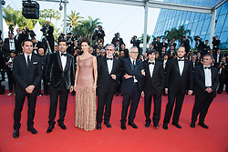 Guest, Pierfrancesco Favino, Maria Fernanda Candido, guest, Marco Bellocchio, Luigi Lo Cascio, Fausto Russo Alesi, and guest attends The TraitorRed Carpet during 72nd Cannes film festival on May 23, 2019 in Cannes, France. Photo by Nasser Berzane/ABACAPRESS.COM