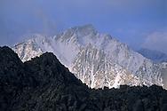 Clearing storm over Lone Pine Peak, Eastern Sierra, California