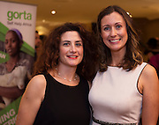 Lorenza Quadrini and Sarah O'Toole, all GSHA at the Gorta Self Help Africa Annual Ball in Hotel Meyrick Galway City. Photo: Andrew Downes, XPOSURE.