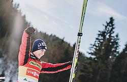 16.02.2020, Kulm, Bad Mitterndorf, AUT, FIS Ski Flug Weltcup, Kulm, Herren, im Bild Sieger Stefan Kraft (AUT) // Winner Stefan Kraft of Austria during the men's FIS Ski Flying World Cup at the Kulm in Bad Mitterndorf, Austria on 2020/02/16. EXPA Pictures © 2020, PhotoCredit: EXPA/ JFK