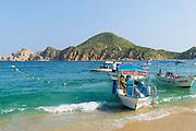 Water taxi, Medano Beach, Cabo San Lucas, Baja, Mexico