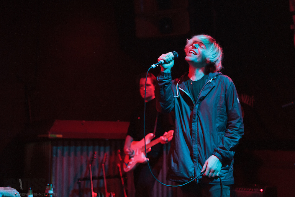 Tim Burgess performing live at The Sugarmill, Stoke-on-Trent, 2013-09-21