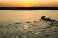 The Mekong River in Southeast Asia is  13th longest river in the world and the 7th longest in Asia. It flows for 4,350 kilometers or 2,703 miles. From the Tibetan Plateau the river runs through Yunnan Province China, Burma, Laos, Thailand, Cambodia and Vietnam.