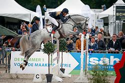 222 - Emir R - Diks Aniek<br /> 5 Jarige Springen<br /> KWPN Paardendagen - Ermelo 2014<br /> © Dirk Caremans