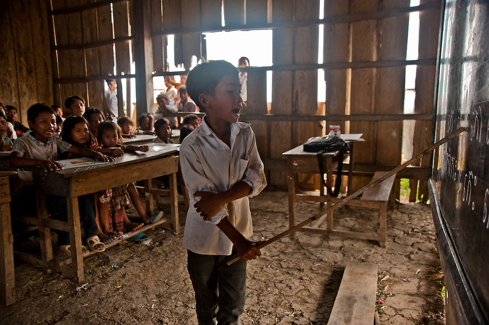 Sampov Lun district/ Partner is ADOVIR. A primary school which has recieved a hand pump, latrines, school supplies, and teacher support, as well as a little wooden bridge for the road.  This year they plan to double the size of the school, which is so overcrowded that the kids have to come in staggered between morning and.afternoon classes. They currently have 195 students, with two teachers.