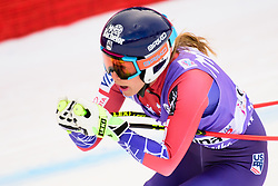 January 19, 2018 - Cortina D'Ampezzo, Dolimites, Italy - Laurenne Ross of United States of America competes  during the Downhill race at the Cortina d'Ampezzo FIS World Cup in Cortina d'Ampezzo, Italy on January 19, 2018. (Credit Image: © Rok Rakun/Pacific Press via ZUMA Wire)