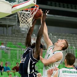 20140401: SLO, Basketball - Telemach League, KK Union Olimpija vs Hopsi Polzela