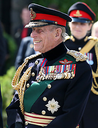 File photo dated 03/07/14 of the Duke of Edinburgh after attending a commemorative service for the Scottish National War Memorial at Edinburgh Castle. The Duke of Edinburgh has died, Buckingham Palace has announced. Issue date: Friday April 9, 2020.. See PA story DEATH Philip. Photo credit should read: Andrew Milligan/PA Wire